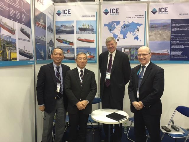 """Sea Japan"" a Success for ICE"