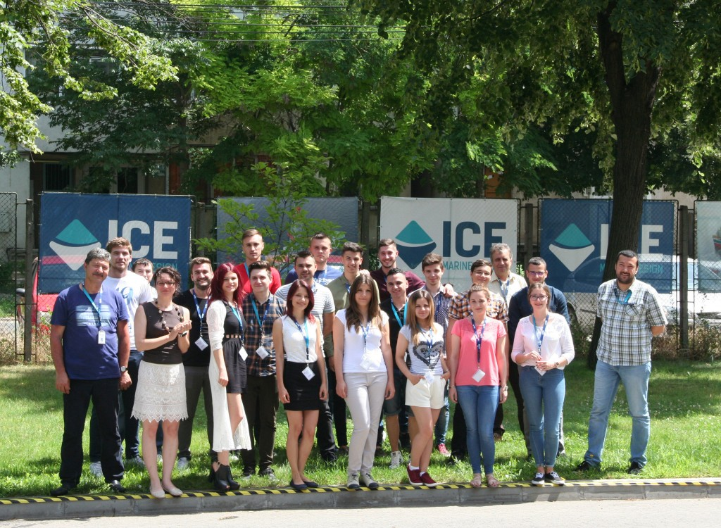 ICE Sponsoring Galati University Students