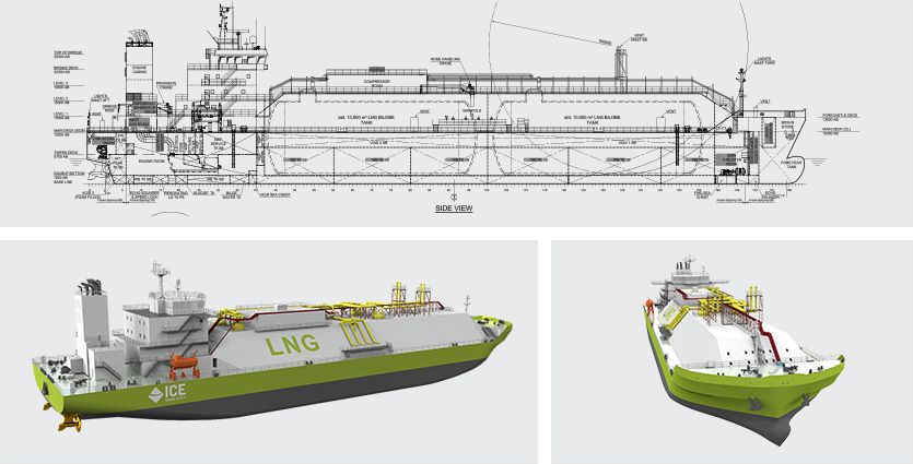 Generic FPSO Hulls - ICE - Ship Design & Engineering Marine Industry